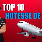 top 10 hotesse de l'air
